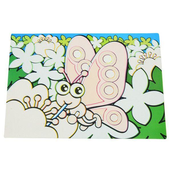 Коврик для рисования водой Fissman Бабочки 644 | fissman ...