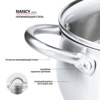 Фото Набор посуды Fissman Nancy 6 пр 5830